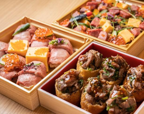 お土産にオススメ「肉寿司」