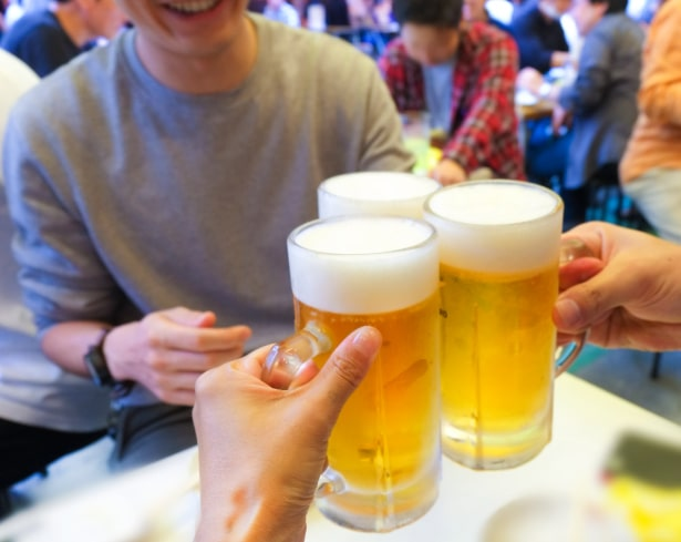 やっぱりこれ!キンキンに冷えた生ビール